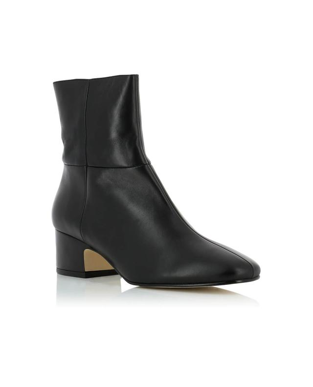 Joseph bottines en cuir noir A32670-NOIR