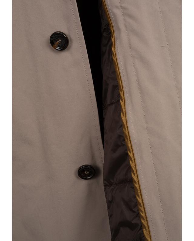 Mantel aus Baumwollmix MOORER
