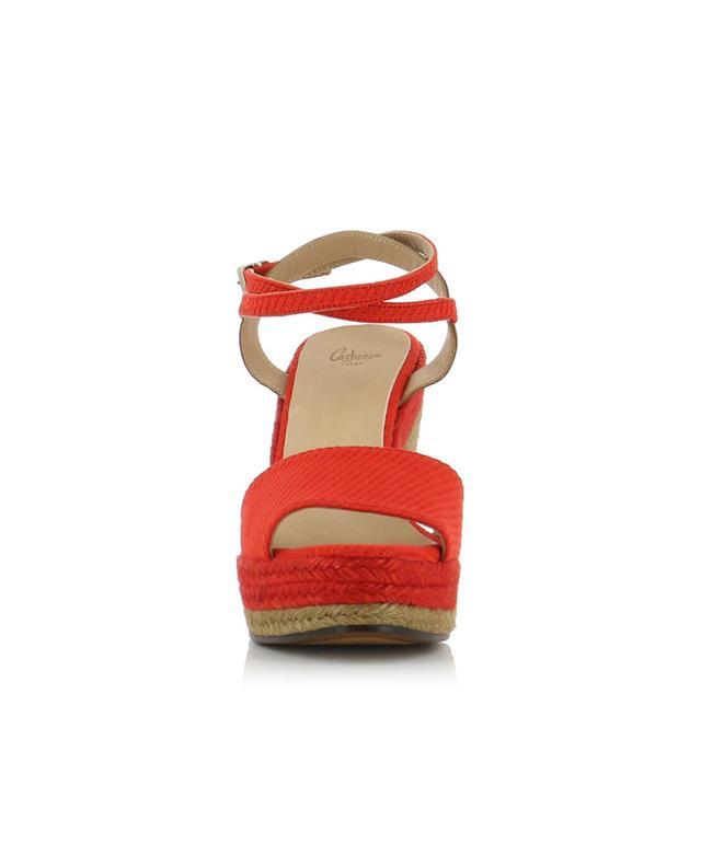 Adela canvas wedge sandals CASTANER