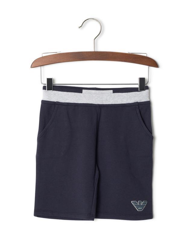 Armani cotton shorts navyblue a32861