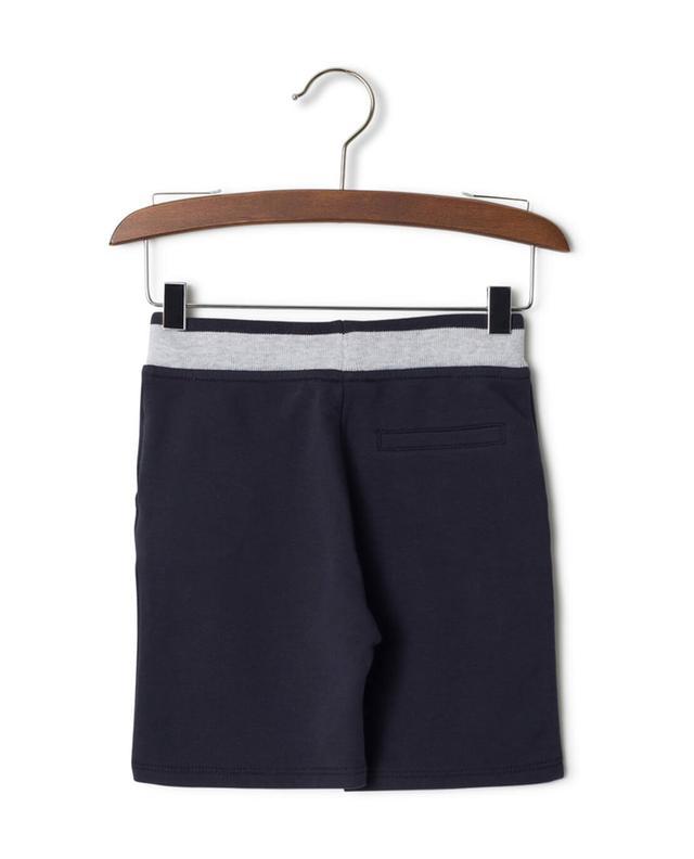 Armani short en coton marine a32861