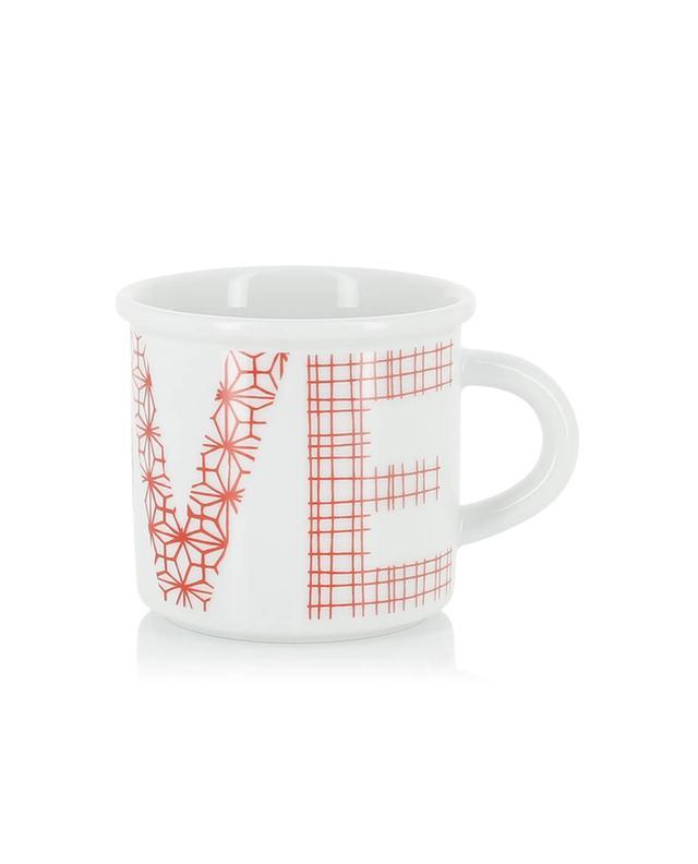 Mug en porcelaine Red Love ZIA SAS DI ILARIA IN