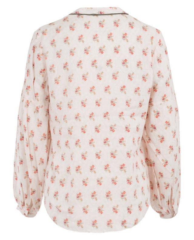 Printed blouse in viscose blend SACK'S