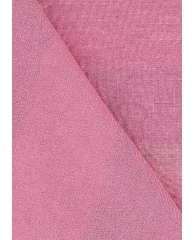 Burberry stola aus modal und seide mega check rosa a35004