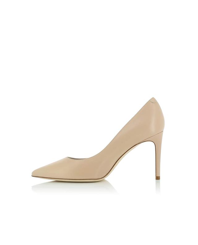 Bongenie grieder smooth leather pumps beige a35062