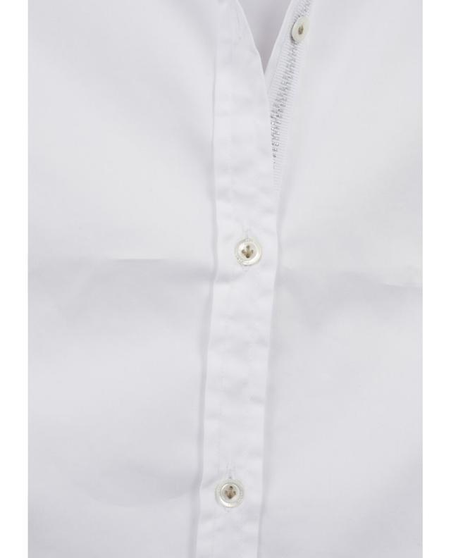 Aglini chemise en coton mélangé linda blanc A35386-BLAN