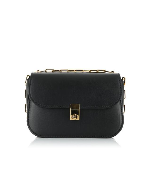 Valentino paradise leather shoulder bag black a35520