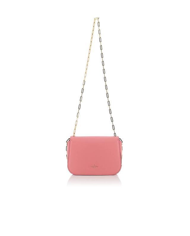 Valentino sac porté épaule en cuir paradise roseclair a35520