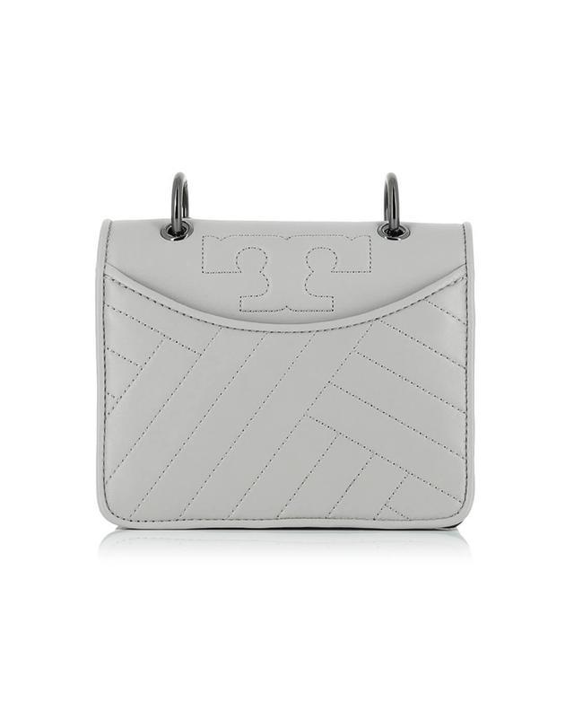 Tory burch alexa leather shoulder bag grey a35550