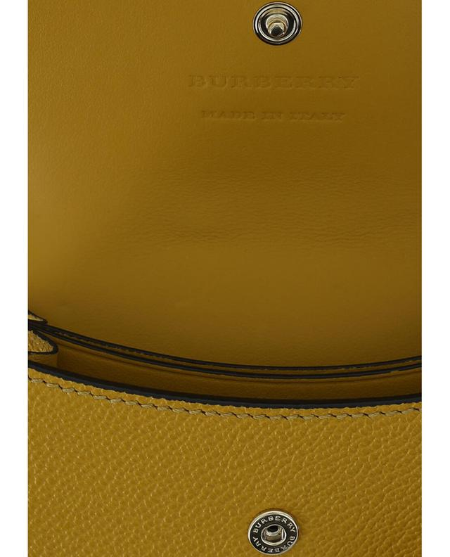 Burberry brieftasche aus strukturiertem leder bunt1 a35625