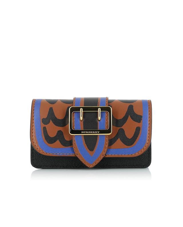 Burberry sac à bandoulière en cuir multicolore1 a35627