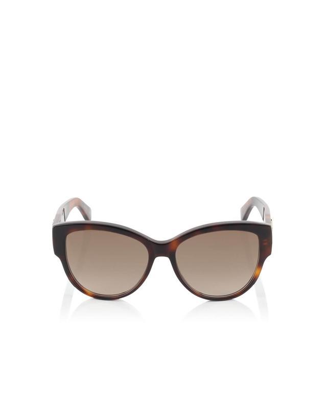 Saint laurent paris lunettes de soleil oversize sl m3 marron