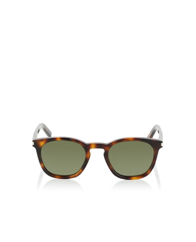 Saint laurent paris sl28 sunglasses brown a35955