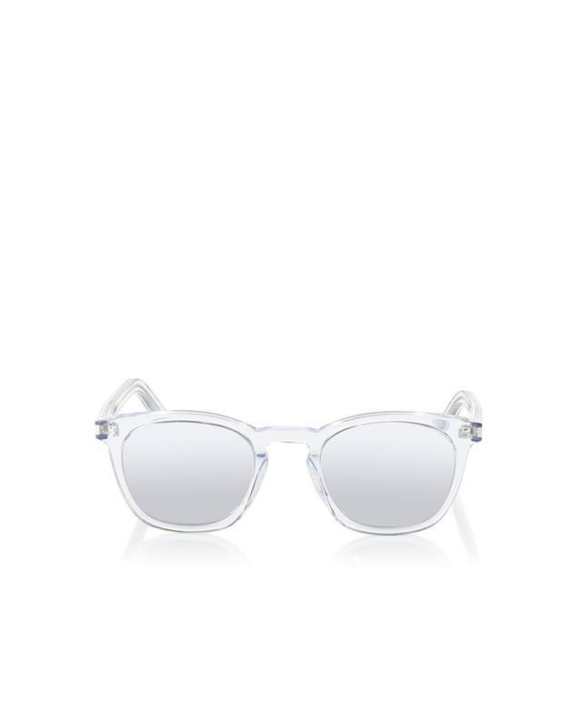 Saint laurent paris sl28 sunglasses white a35955