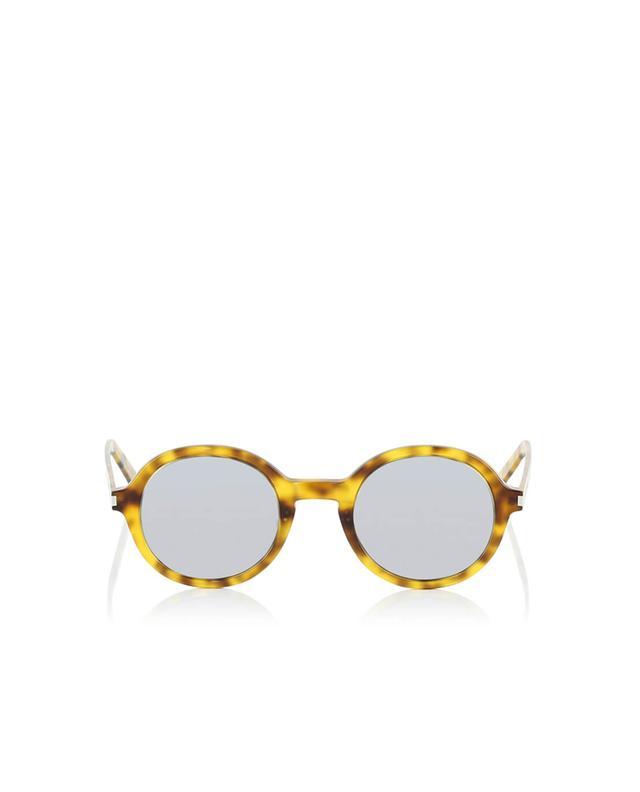 Saint laurent paris sonnenbrille sl 161 slim kamelfarben