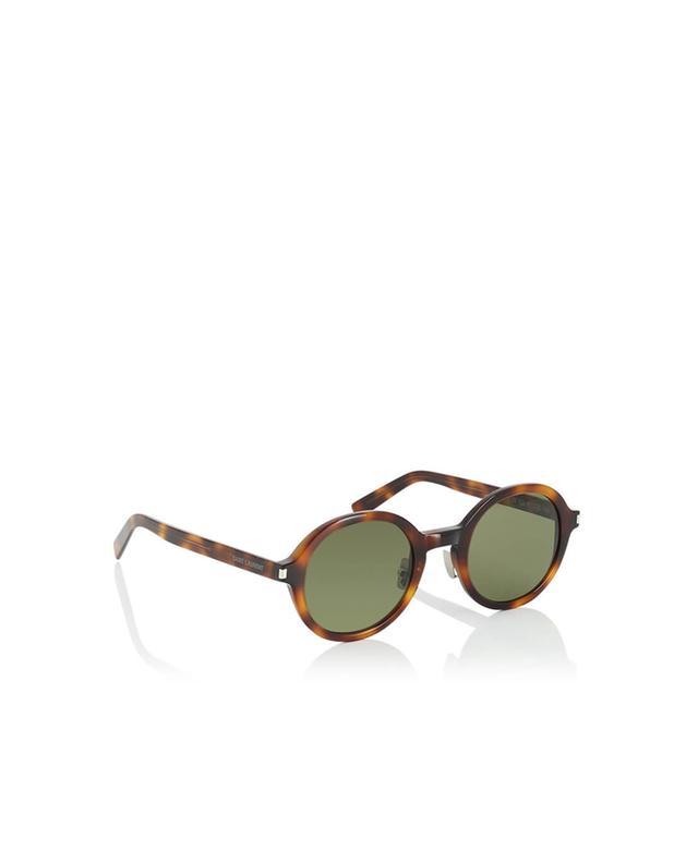 Saint laurent paris lunettes de soleil sl 161 slim marron