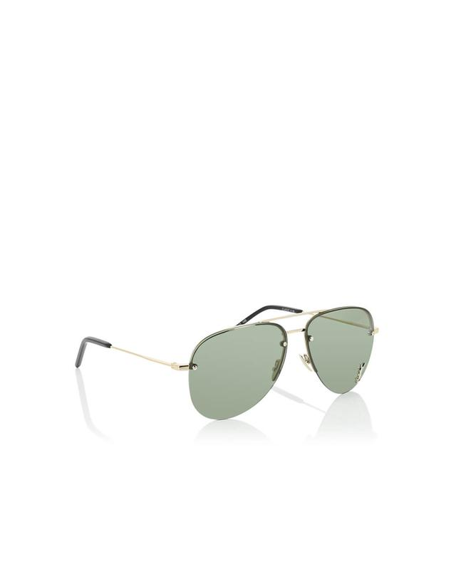 Saint laurent paris classic 11 m aviator sunglasses golden