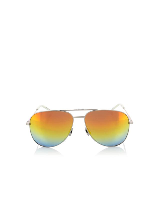 Saint laurent paris classic 11 r aviator sunglasses grey