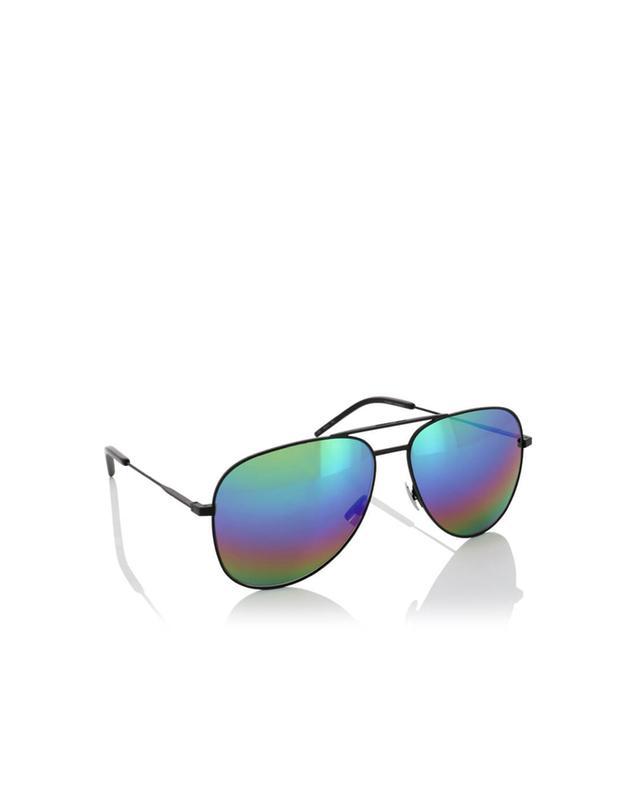 Saint laurent paris sonnenbrille im flieger-design classic 11 r schwarz