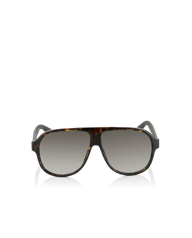 Gucci aviator sunglasses brown a35964