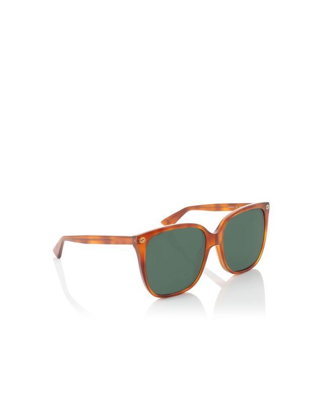 Gucci runde sonnenbrille kamelfarben a35967