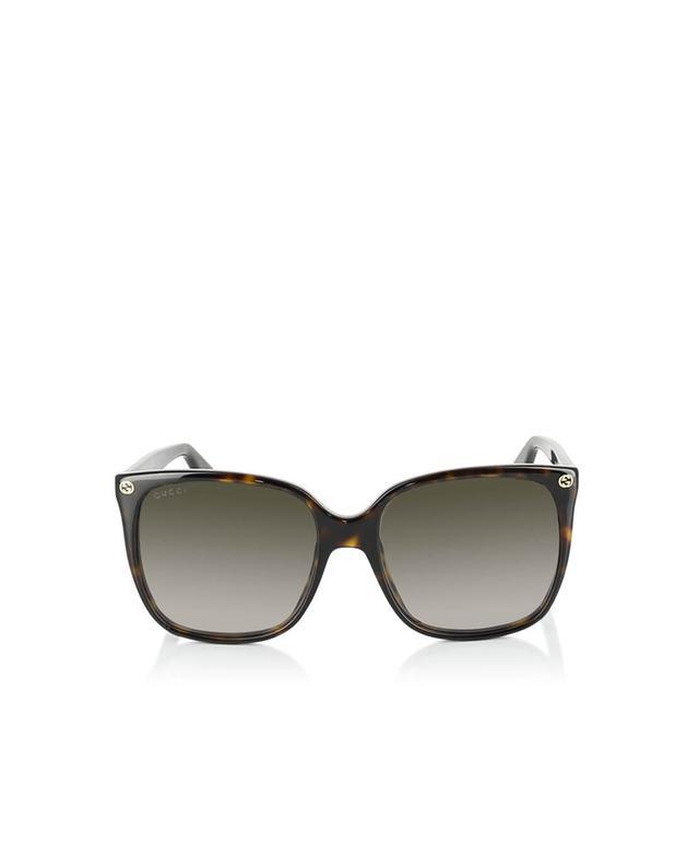 Gucci runde sonnenbrille braun a35967