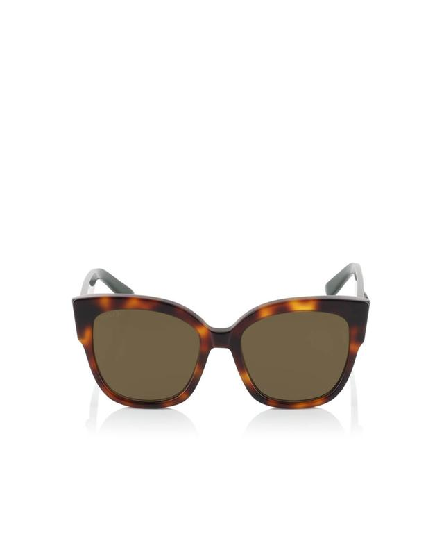 Gucci square-frame acetate sunglasses brown a35971