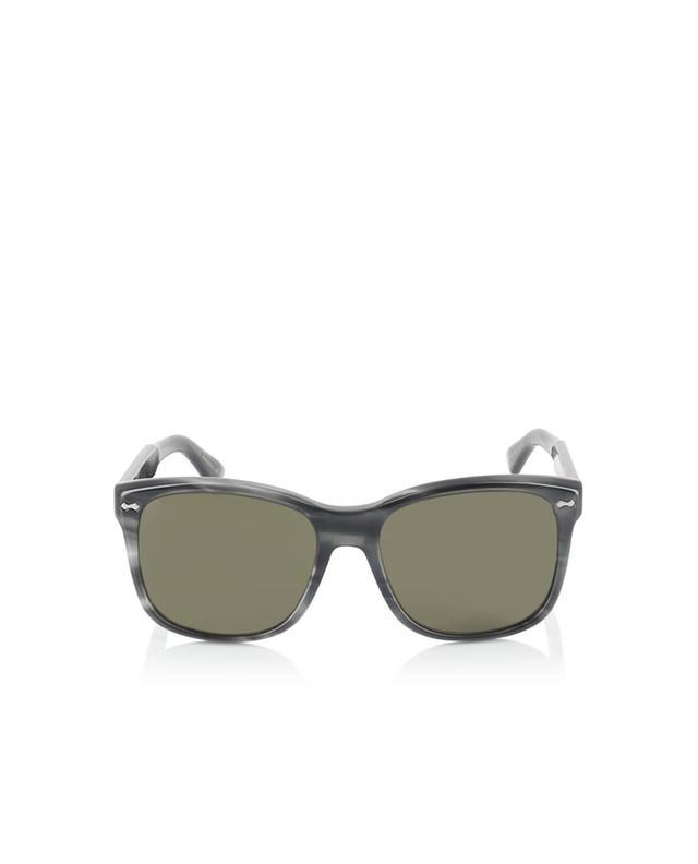 Gucci square-frame sunglasses anthracite a35979