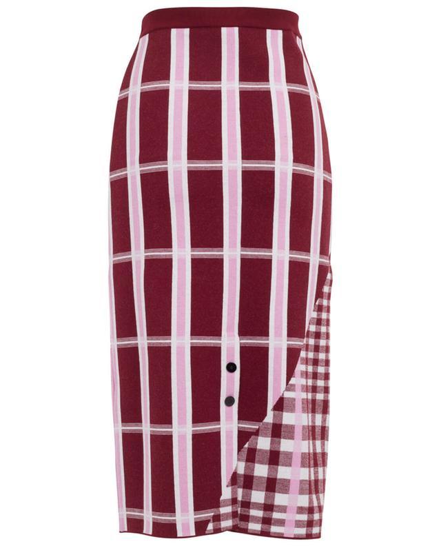 Wool blend straight skirt VICTORIA BECKHAM
