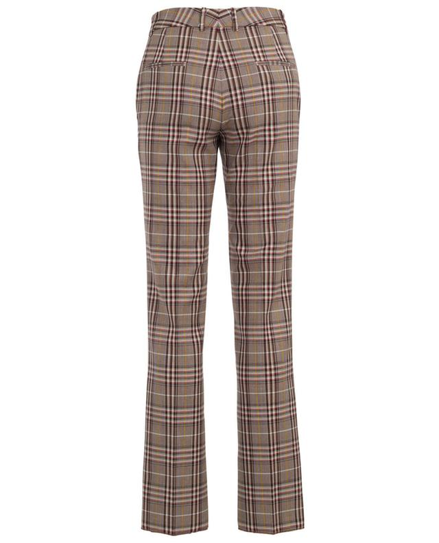 Virgin wool chequered trousers VICTORIA BECKHAM