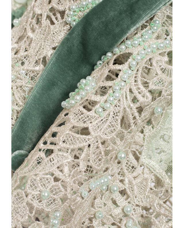 Chloris embroidered tulle blouse EZGI CINAR