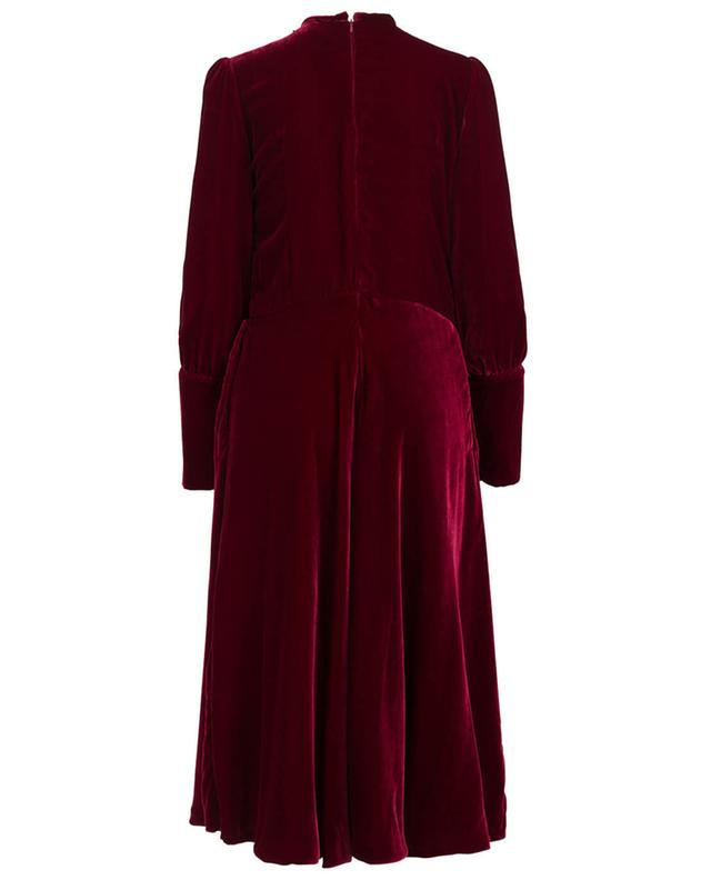 Eos embroidered velvet dress EZGI CINAR