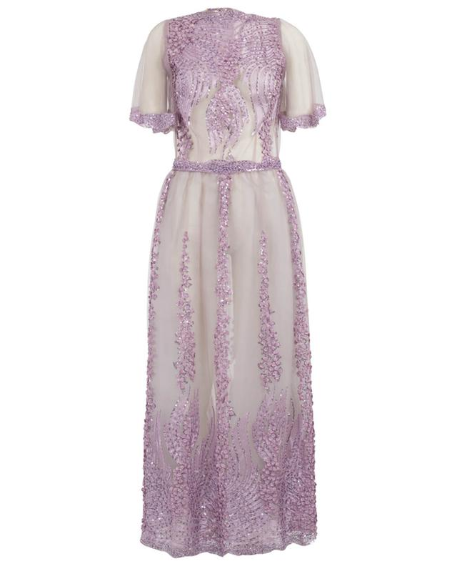 Chariten embroidered tulle maxi dress EZGI CINAR
