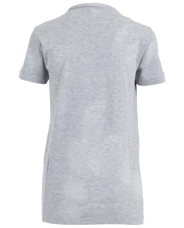 T-shirt on coton mélangé effet vieilli DSQUARED2