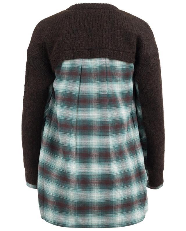 Pullover mit Hemd-Detail DSQUARED2