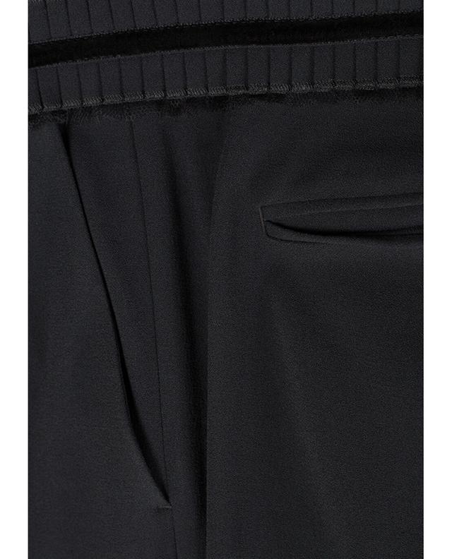Pantalon raccourci en viscose mélangée DSQUARED2
