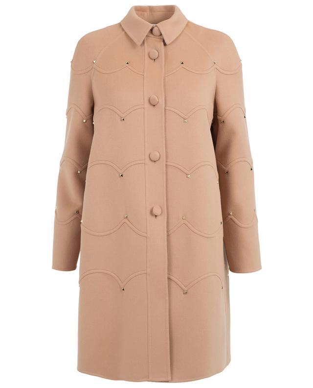 Manteau en laine vierge et cachemire VALENTINO