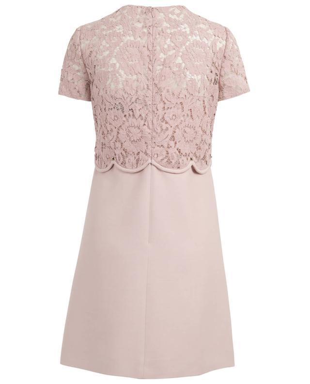 Kleid aus Schurwolle und Seide VALENTINO