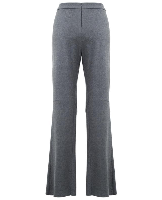 Pantalon tricot large en laine vierge STELLA MCCARTNEY
