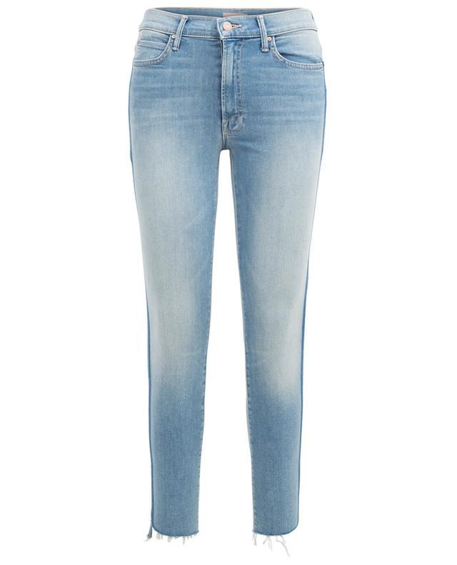 Skinny-Fit Jeans Stunner Zip Light Kitty Racer MOTHER