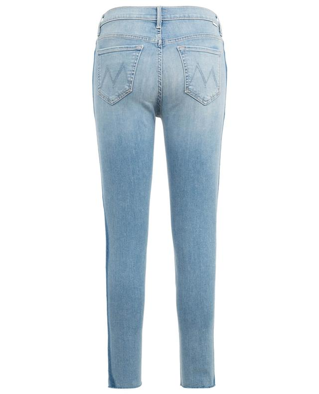 Jean Skinny Stunner Zip Light Kitty Racer MOTHER