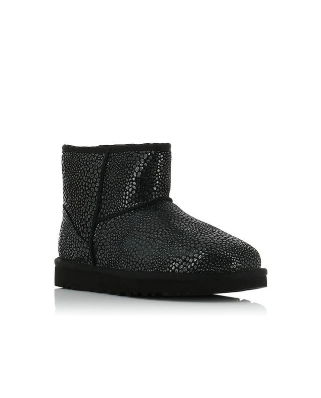 Classic Mini Glitzy suede ankle boots UGG
