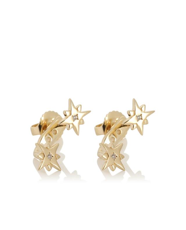 North Star silver earrings AVINAS