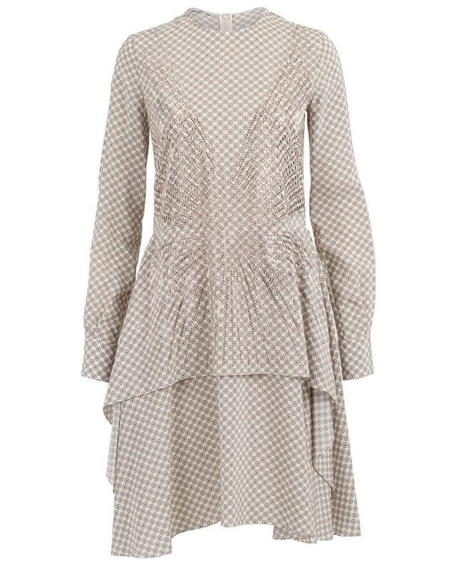 Kleid mit Print aus Seide STELLA MCCARTNEY