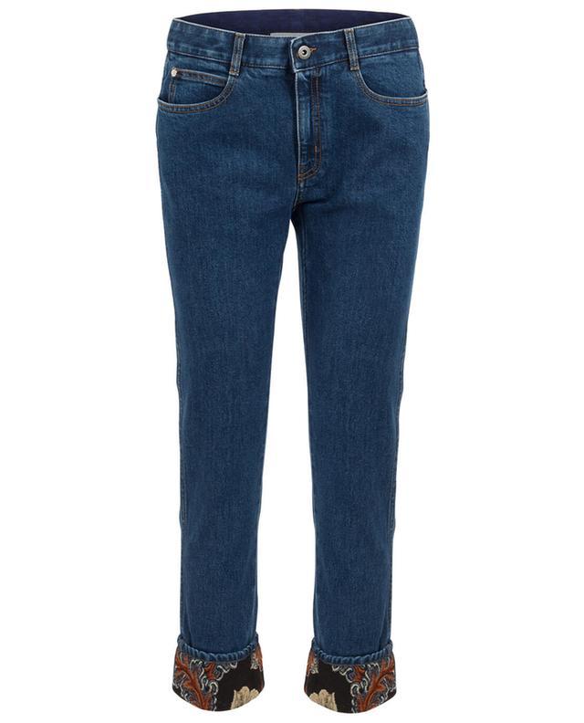 Boyfriend Jeans mit Brokat-Detail STELLA MCCARTNEY
