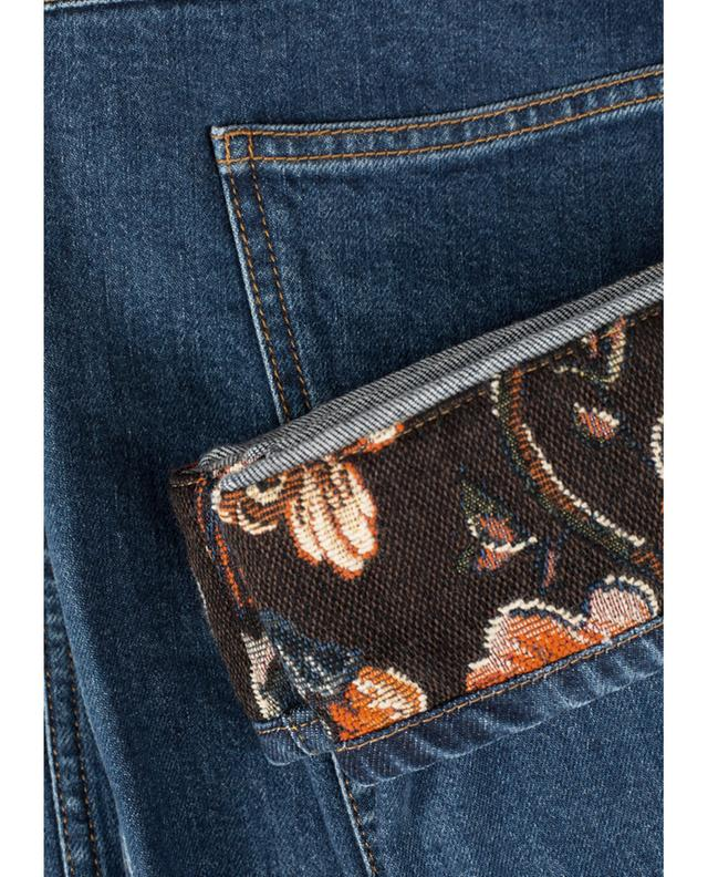 Boyfriend Jeans with borcade detail STELLA MCCARTNEY