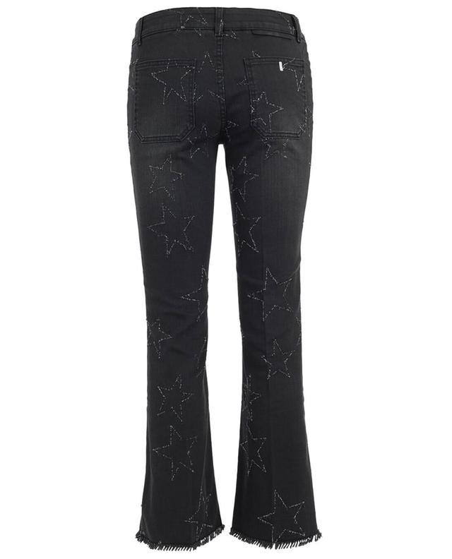 Used-Look Skinny-Fit Jeans mit Stickerei STELLA MCCARTNEY