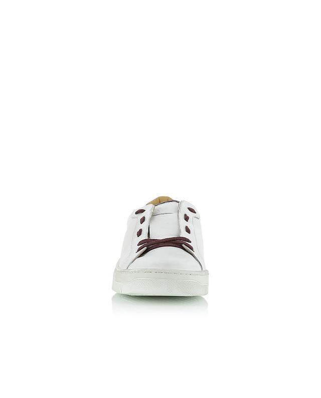 Bicolour leather sneakers ELEVENTY