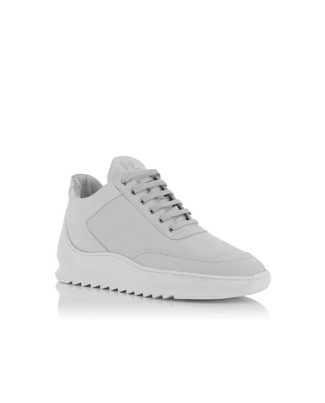 Low Top Heel Cap leather sneakers FILLING PIECES