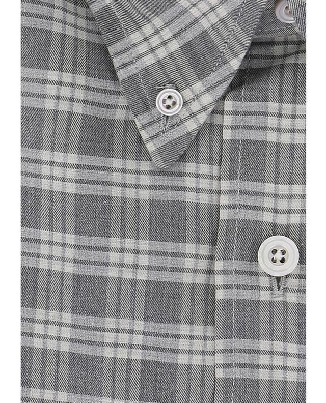 Cotton checkered shirt TOM FORD